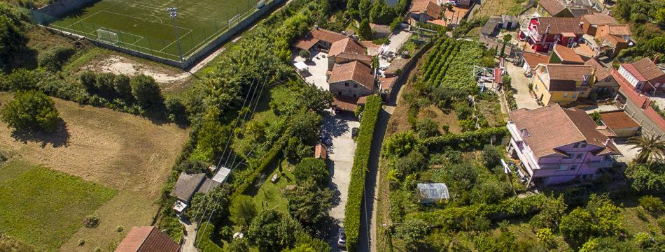 Vista desde el aire de Casa Videira